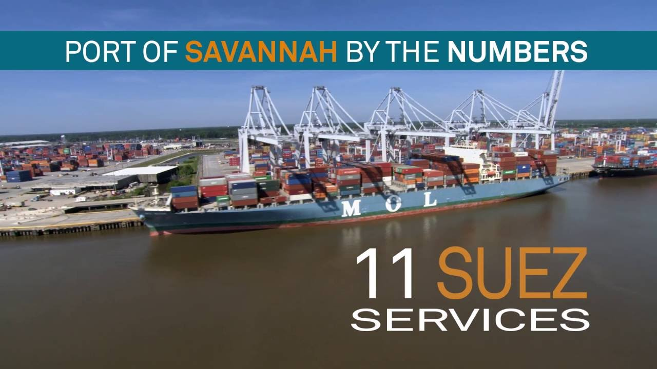 Georgia Ports Authority > Port of Savannah