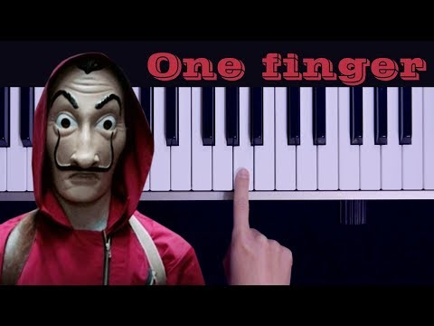 Bella Ciao / One Finger TOO EASY Piano Tutorial (melodica Tutorial)