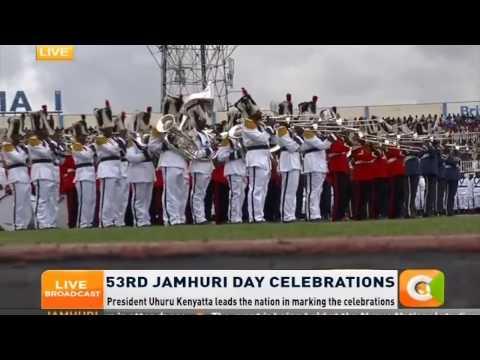 Happening now; Jamhuri Day celebrations