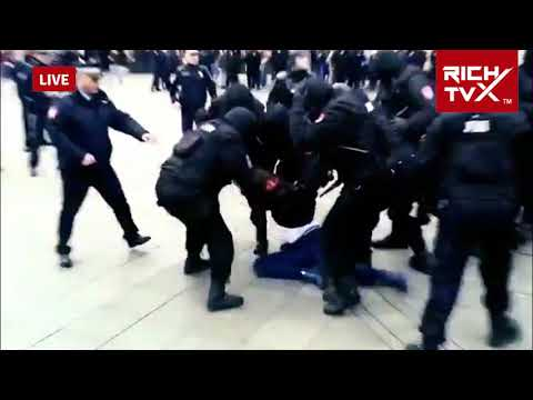 Police Brutality of The Milorad Dodik Regime In Banja Luka Against Pravda Za Davida @Davor95007141