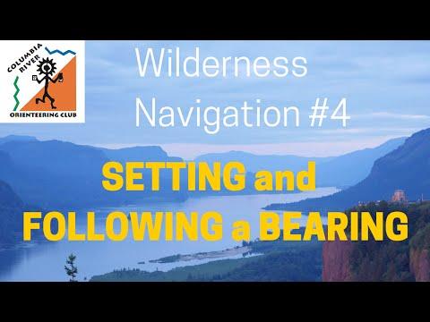 Wilderness Navigation #4 - Following a Bearing - croc.org