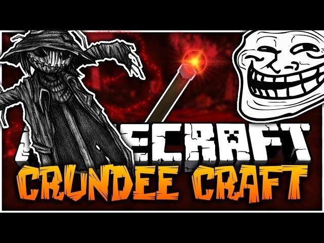 Minecraft: INSANE SCARE CROW SCREAMING PRANK - Crundee Craft