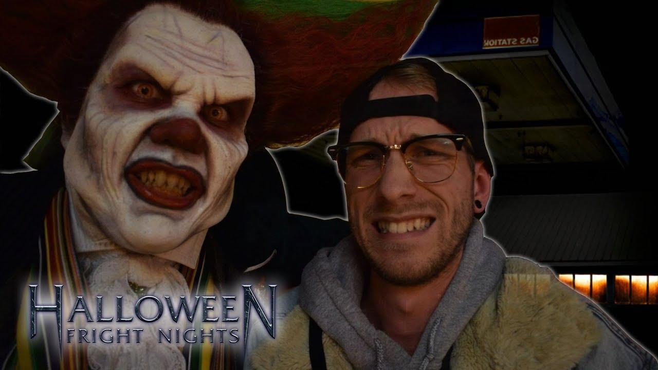 Halloween Fright Nights Recensie.Als Een Van De Eerste In Below Walibi Fright Night Special