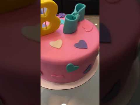 Emma 8th Birthday Jojo Siwa Cake Youtube