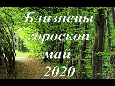 Близнецы -  гороскоп на май 2020