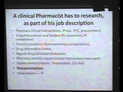 Philosophy of Clinical Pharmacy Research Part 2- ABCDE Research Day, March 3, 2012-