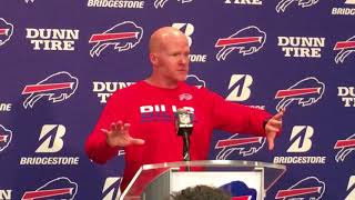 Buffalo Bills Week 6: Bye - Sean McDermott (10/9/17)
