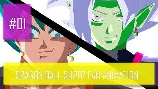 ✍Dragon Ball Super Fan Animation Gogeta e Vegetto Vs Zamasu   Batalha Completa   DBS