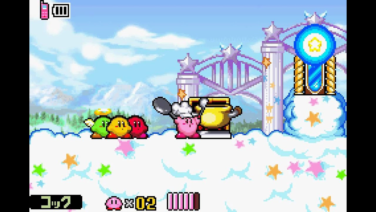 สูตร Kirby And The Amazing Mirror GameShark Code