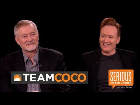 Author Erik Larson — Serious Jibber-Jabber with Conan O'Brien  - CONAN on TBS