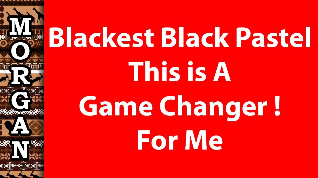 The Blackest Pastel Pencil