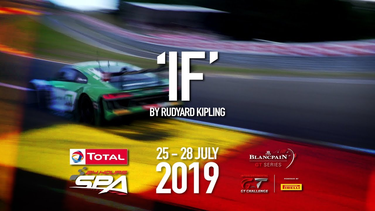 2019 OFFICIAL TRAILER - The Total 24 Hours of Spa - Motor Informed