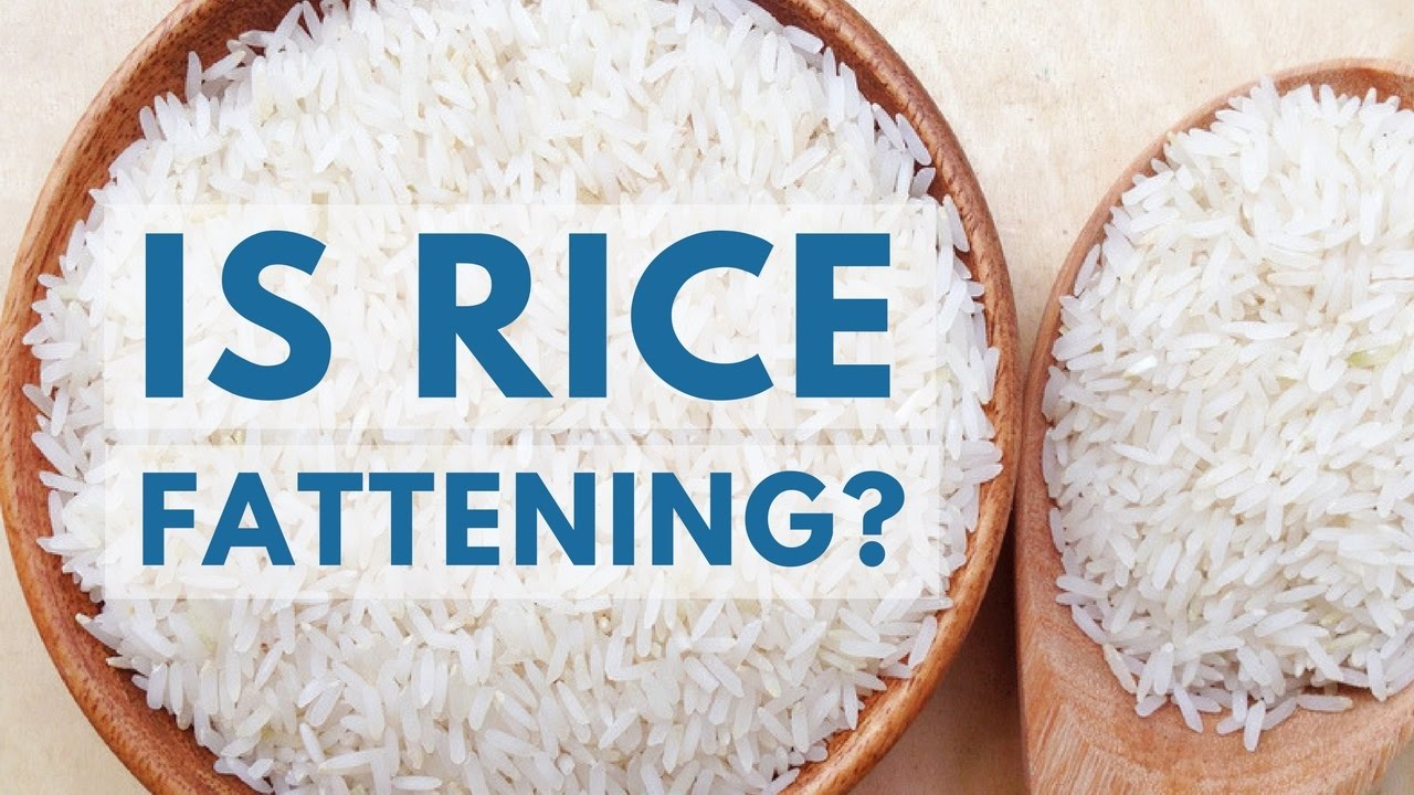 Rice for weight loss
