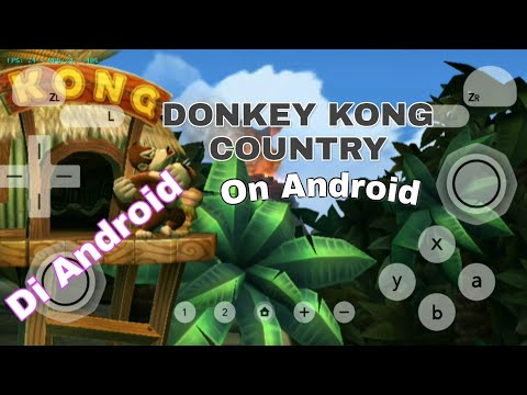 DONKEY KONG COUNTRY RETURNS On Android | Dolphin Emulator+Tutorial WiimoteNew.ini