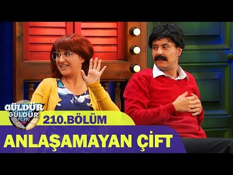 Güldür Güldür Show 210.Bölüm - Anlaşamayan Çift