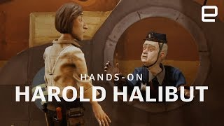 Harold Halibut hands-on at GDC 2018