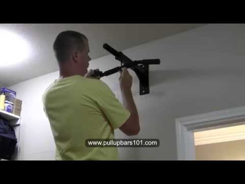 Ultimate Body Press Wall Mounted Pull Up Bar Youtube