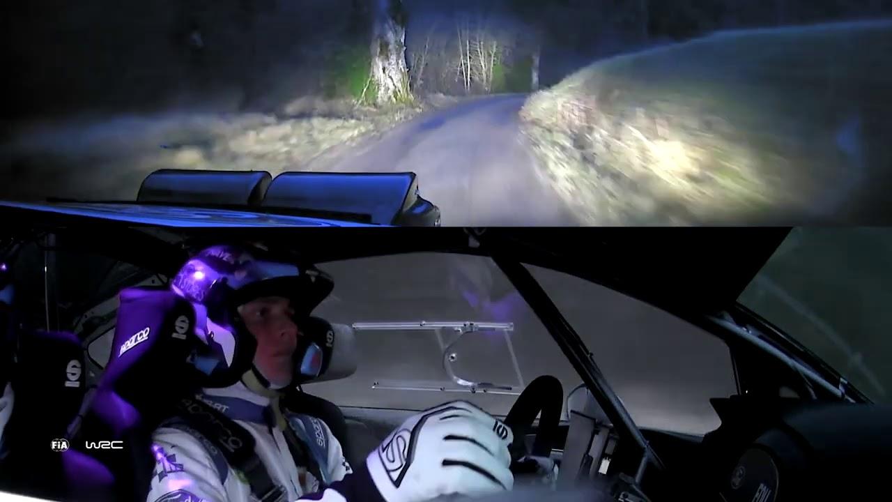 WRC2 Rallye Monte-Carlo 2021 / M-Sport Ford WRT: ONBOARD Fourmaux