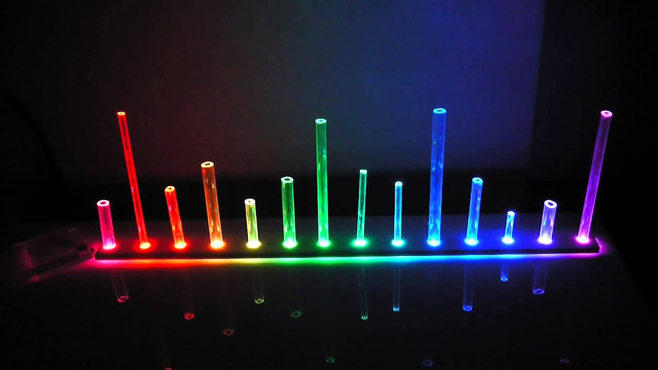 Led Mood Light Using Ws2812 Led Strip Youtube