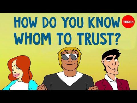 Làm sao để biết được ai để tin tưởng