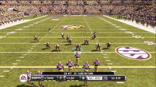 NCAA Football 12 gameplay: Texas A&M vs. LSU (Xbox 360) - Twitter @NCAAdynasty