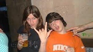 Пьяные девки.  Охладилась. #ржака