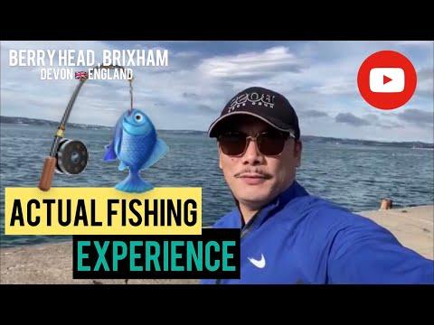 Actual Fishing @ Brixham, Berry Head