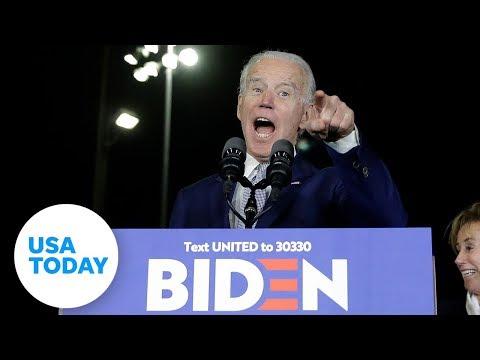 Joe Biden has big Super Tuesday, race clarified to two frontrunners | USA TODAY