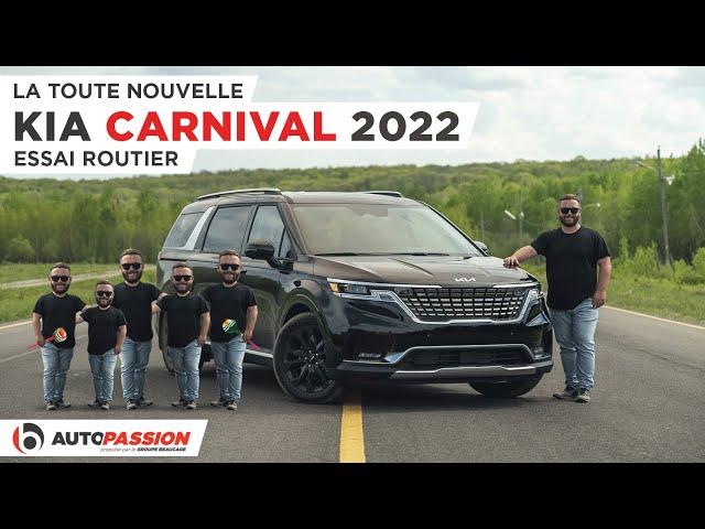 Kia Carnival 2022 – La Minivan La Plus Cool Du Débarcadère !