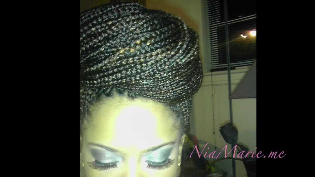 Crochet Braids Itch : 1b 33 Braids No more itchy box braids! - youtube