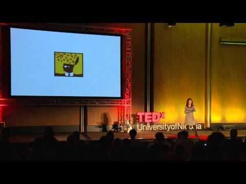 Look deeper -- write -- the wonders of writing | Nicoletta Demetriou | TEDxUniversityofNicosia