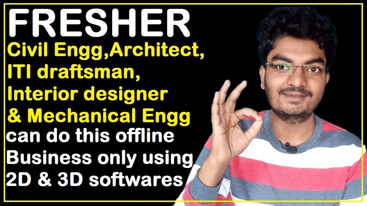 Fresher Civil Engineer Architect Iti Interior Designer Mechanical Engineer Can Do This Business Youtube