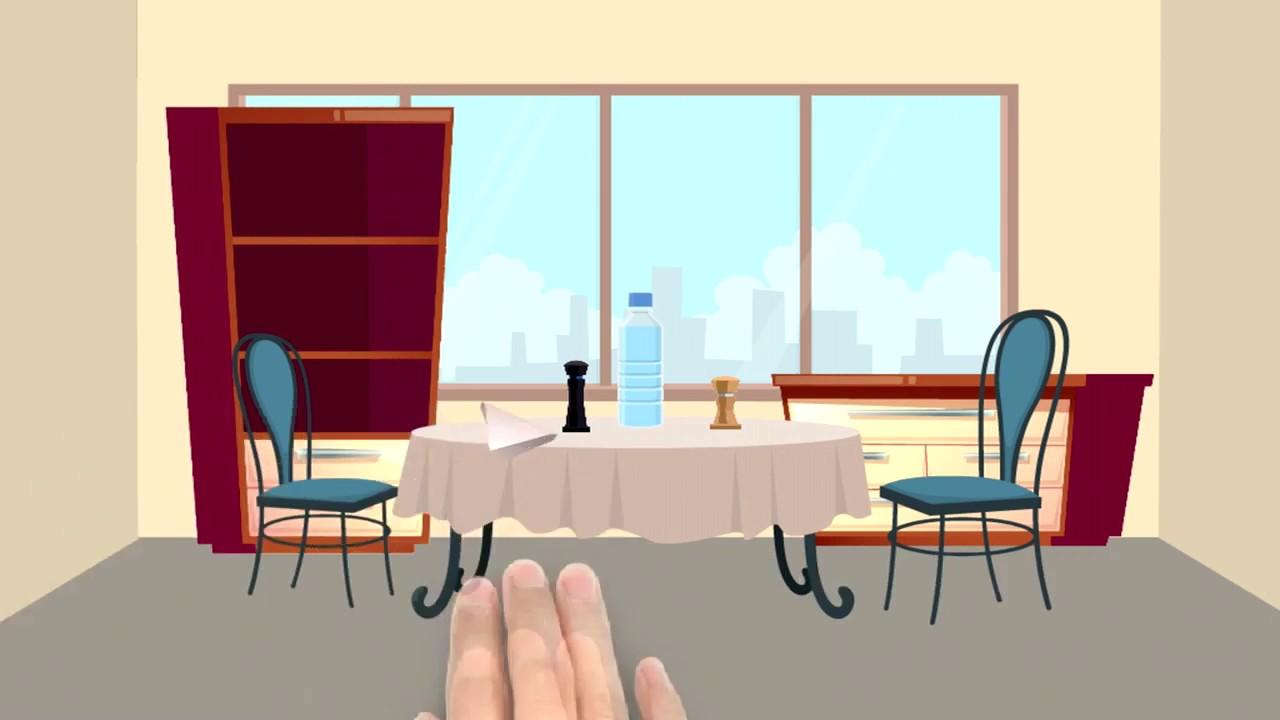 INGLES PARA NIÑOS vocabulario partes del Comedor The Dining Room