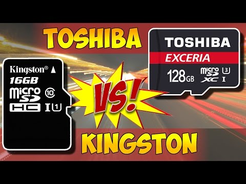 MICRO SD TOSHIBA VS KINGSTONE С АЛИЭКСПРЕСС.