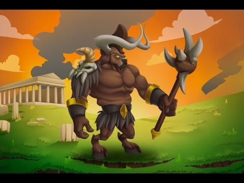 Minotaurus Monster Legends