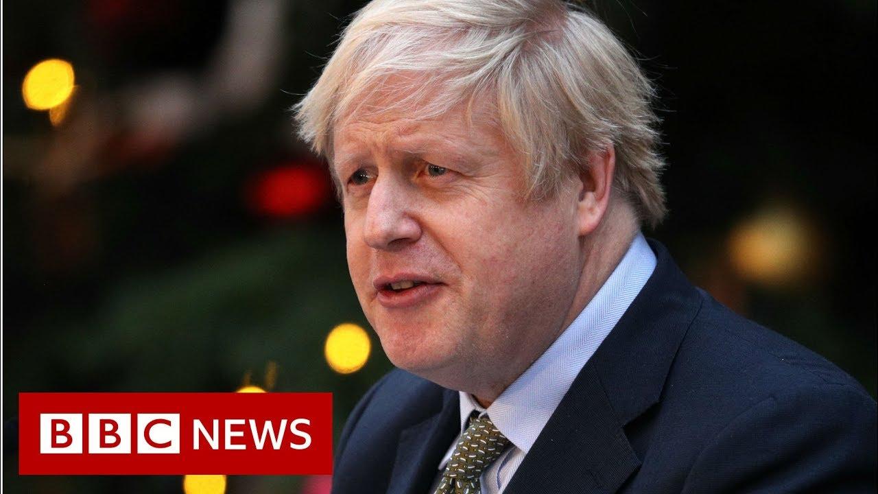 UK PM Boris Johnson Speaking outside Downing Street - BBC News