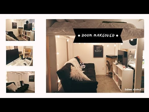 REDOING MY ROOM 2019 LOFT | Tatum Elaine
