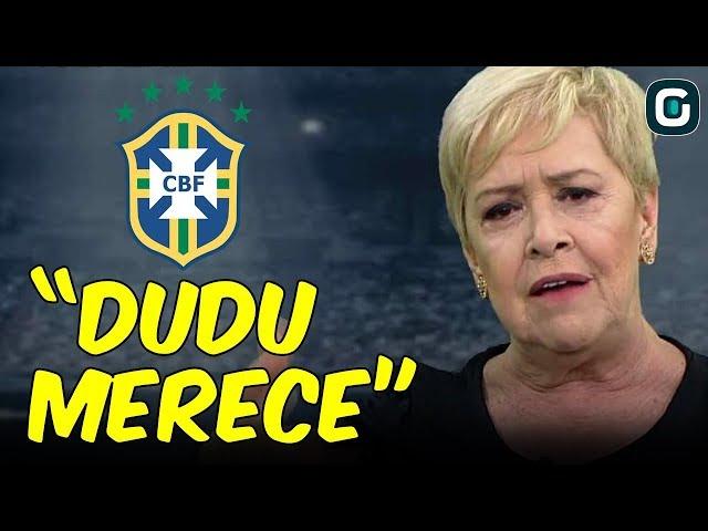"""""""Acho que o Dudu já faz POR MERECER a SUA CHANCE"""", diz Regiani Ritter (08/03/19)"""