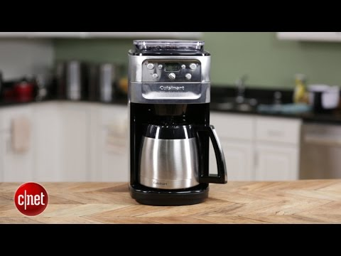 Cuisinart Burr Grind and Brew crunches beans for fresh pots of coffee