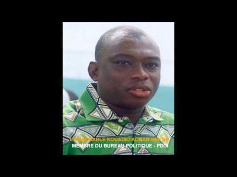 INRI RADIO  DR MOUKETOU   INVITE  L'HONORABLE KOUADIO KONAN BERTIN  KKB   COTE D'IVOIRE  27 OCT 2013