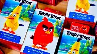 Энгри Бердс в Кино в сюрпризах от Sweet Box The Angry Birds Movie 2016 на русском языке