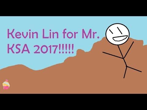 Kevin Lin for Mr. KSA 2017