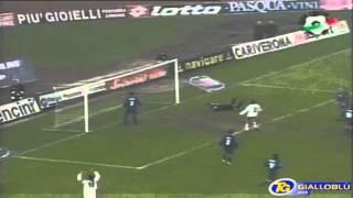 Serie A 2000-2001, day 09 Verona - Brescia 2-1 (Bonazzoli, Gilardino, Hubner)
