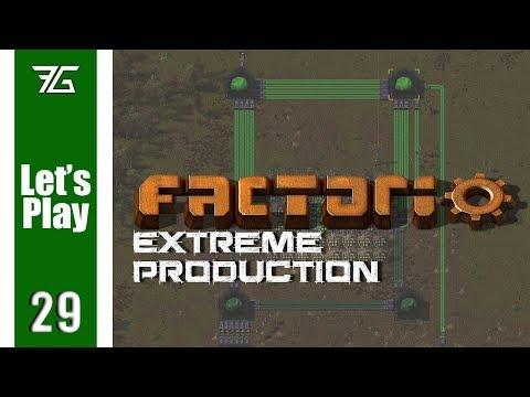 Factorio Extreme Production - Ep 29 Gold Smelting