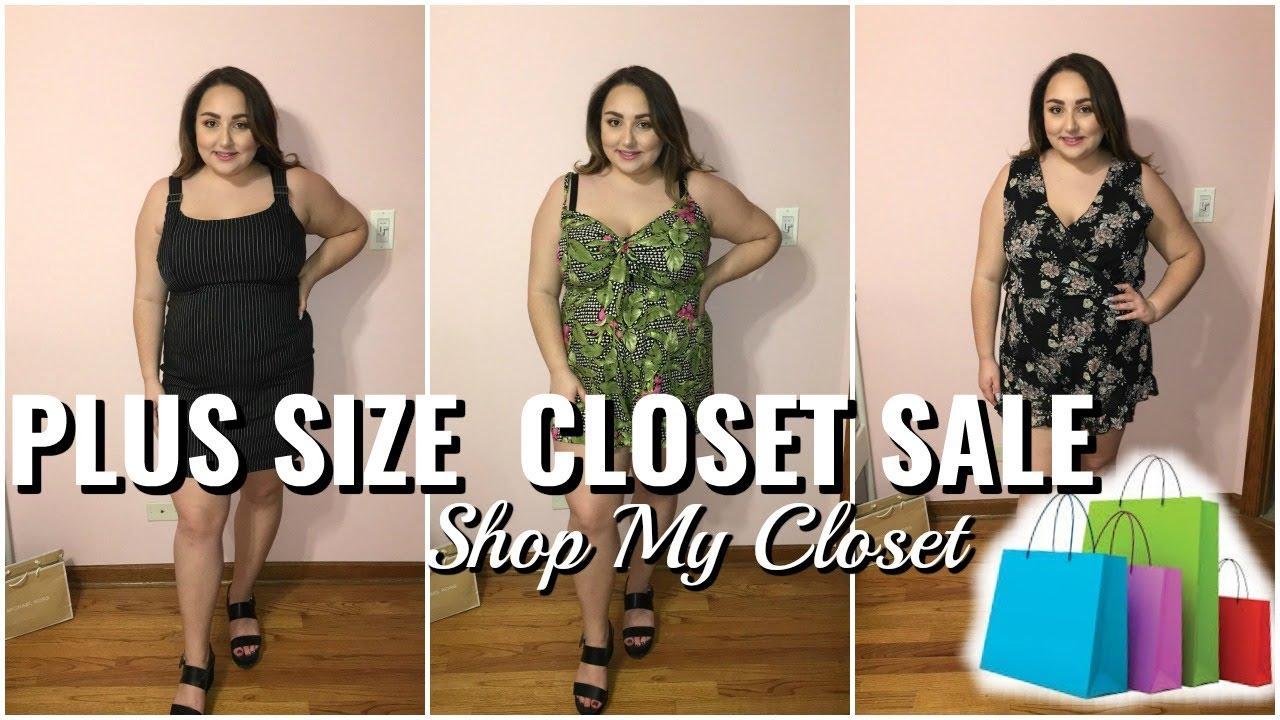 Plus Size Try On Closet Sale Shop My Closet Youtube