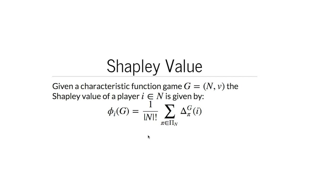 Calculating A Taxi Fare Using The Shapley Value Youtube