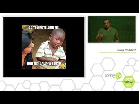 Get HATEOAS and Hypermedia right with Spring - Eugene Paraschiv @ Spring I/O 2016