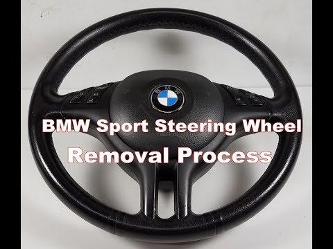 bmw e39 540 e46 330 sport steering wheel airbag removal m5. Black Bedroom Furniture Sets. Home Design Ideas