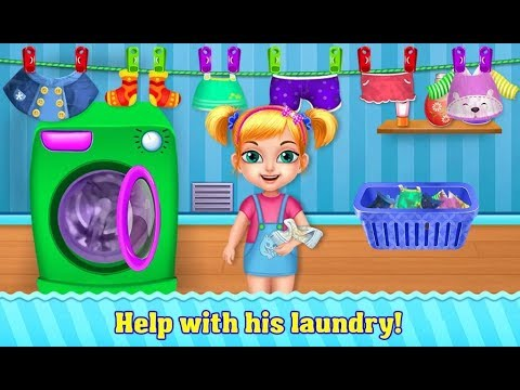 house cleaning clean tidy room cleaning activities games for kids girls baby android gameplay - Baby Room Cleaning Games