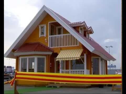 Casa de madera promoci n especial carrefour elida youtube - Youtube casas de madera ...